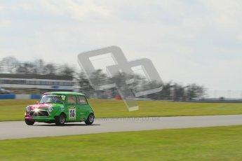 © Octane Photographic Ltd. Mini Miglia practice session 21st April 2012. Lee Jones, The Jonesy's. Donington Park. Digital Ref : 0298lw7d6419