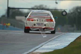 © Octane Photographic Ltd. BritCar Production Cup Championship race. 21st April 2012. Donington Park. Nigel Ainge/Mike Jordan, Eurotech Racing, Honda Accord. Digital Ref : 0300lw1d2078