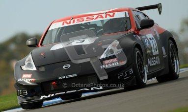 © Carl Jones/Octane Photographic Ltd. 20th October 2012. Peter Pyzera, Nissan 370z, OSS, Donington Park. Digital Ref : 0549ce7d1817