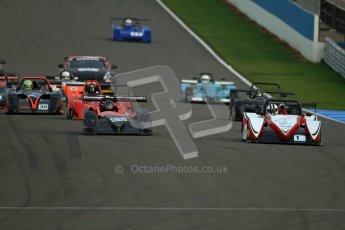 © Carl Jones/Octane Photographic Ltd. 20th October 2012. The Start, OSS, Donington Park. Digital Ref : 0549ce7d1918