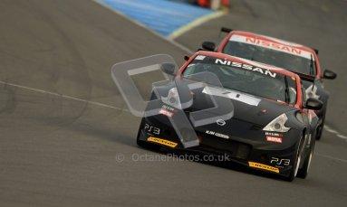 © Carl Jones/Octane Photographic Ltd. 20th October 2012. Dan Mitchell, Nissan 370z, OSS, Donington Park. Digital Ref : 0549ce7d1957