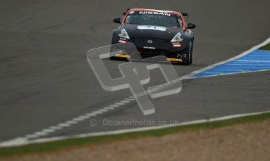 © Carl Jones/Octane Photographic Ltd. 20th October 2012. Dan Mitchell, Nissan 370z, OSS, Donington Park. Digital Ref : 0549ce7d2004