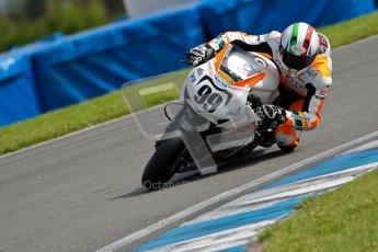 © Octane Photographic Ltd/Chris Enion 2012. British Superbikes test day – Donington Park, Tuesday 7th August 2012. Luca Scassa - Padgett's Honda. Digital Ref : 0450CE1D0079