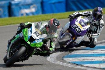 © Octane Photographic Ltd/Chris Enion 2012. British Superbikes test day – Donington Park, Tuesday 7th August 2012. Danny Buchan - MSS Bathams Kawasaki. Digital Ref : 0450CE1D0111