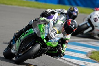 © Octane Photographic Ltd/Chris Enion 2012. British Superbikes test day – Donington Park, Tuesday 7th August 2012. Danny Buchan - MSS Bathams Kawasaki. Digital Ref : 0450CE1D0114