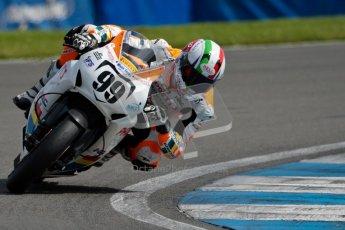 © Octane Photographic Ltd/Chris Enion 2012. British Superbikes test day – Donington Park, Tuesday 7th August 2012. Luca Scassa - Padgett's Honda. Digital Ref : 0450CE1D0163