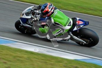 © Octane Photographic Ltd/Chris Enion 2012. British Superbikes test day – Donington Park, Tuesday 7th August 2012. Mark Aitchison - Splitlath-Redmond Racing. Digital Ref : 0450CE1D0450