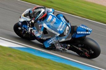 © Octane Photographic Ltd/Chris Enion 2012. British Superbikes test day – Donington Park, Tuesday 7th August 2012. Michael Laverty - Tyco Suzuki. Digital Ref : 0450CE1D0477