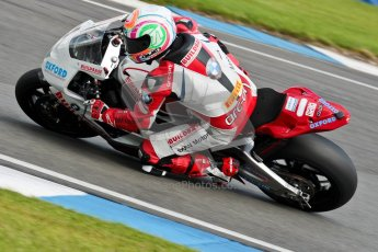 © Octane Photographic Ltd/Chris Enion 2012. British Superbikes test day – Donington Park, Tuesday 7th August 2012. Buildbase BMW. Digital Ref : 0450CE1D0533