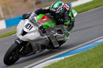 © Octane Photographic Ltd/Chris Enion 2012. British Superbikes test day – Donington Park, Tuesday 7th August 2012. Gary Mason - Primo Bournmouth Kawasaki. Digital Ref : 0450CE1D0581