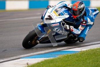 © Octane Photographic Ltd/Chris Enion 2012. British Superbikes test day – Donington Park, Tuesday 7th August 2012. Michael Laverty - Samsung Honda. Digital Ref : 0450CE1D0601