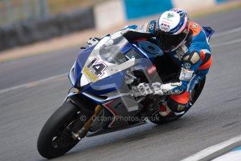 © Octane Photographic Ltd/Chris Enion 2012. British Superbikes test day – Donington Park, Tuesday 7th August 2012. John Laverty - Splitlath-Redmond Racing. Digital Ref : 0450CE1D0628