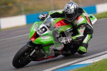 © Octane Photographic Ltd/Chris Enion 2012. British Superbikes test day – Donington Park, Tuesday 7th August 2012. Chris Walker - Primo Bournmouth Kawasaki. Digital Ref : 0450CE1D0640