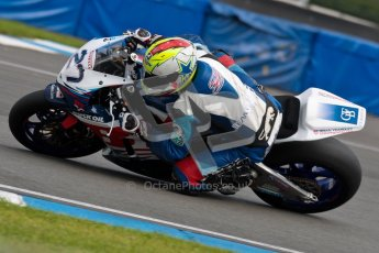 © Octane Photographic Ltd/Chris Enion 2012. British Superbikes test day – Donington Park, Tuesday 7th August 2012. James Westmoreland - Team WFR Honda. Digital Ref : 0450CE1D0773