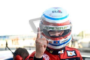 © Chris Enion/www.octanephotos.co.uk 2012 BTCC. Silverstone. Qualifying. Jason Plato - MG KX Momentum Racing. Digital Ref: 0538ce1d0670