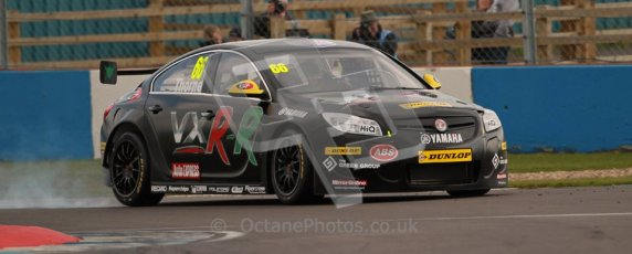 © Octane Photographic Ltd. BTCC - Round Two - Donington Park - Quail. Saturday 14th April 2012. John Thorne, Vauxhall Insignia VXR-R, Thorney Motorsport. Digital ref : 0294lw1d7437