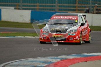 © Octane Photographic Ltd. BTCC - Round Two - Donington Park - Quail. Saturday 14th April 2012. Liam Griffin, Ford Focus, Redstone Racing. Digital ref : 0294lw1d7557