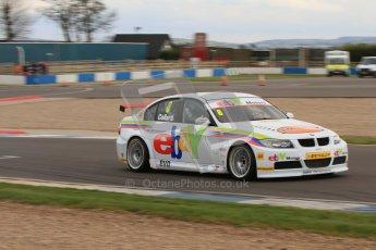 © Octane Photographic Ltd. BTCC - Round Two - Donington Park - Quail. Saturday 14th April 2012. Rob Collard, BMW320si, eBay Motors. Digital ref : 0294lw7d3204