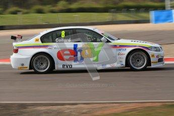 © Octane Photographic Ltd. BTCC - Round Two - Donington Park - Race 1. Sunday 15th April 2012. Rob Collard at speed. Digital ref : 0295lw7d3899