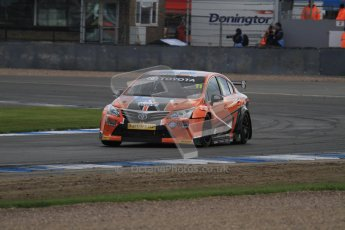 © Octane Photographic Ltd. BTCC - Round Two - Donington Park - Race 2. Sunday 15th April 2012. Frank Wrathall, Toyota Avensis, Dynojet. Digital ref : 0296lw7d4961