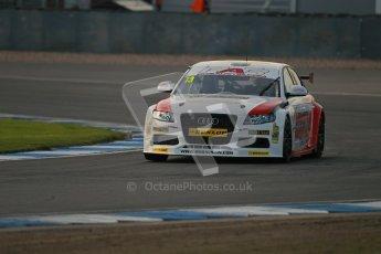 © Octane Photographic Ltd. BTCC - Round Two - Donington Park. Free Practice. Saturday 14th April 2012. Rob Austin, Audi A4, Rob Austin Racing. Digital ref : 0291lw1d5973