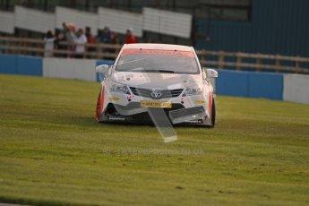 © Octane Photographic Ltd. BTCC - Round Two - Donington Park. Free Practice. Saturday 14th April 2012. Adam Morgan, Toyota Avensis, Speedworks Motorsport. Digital ref : 0291lw1d6267