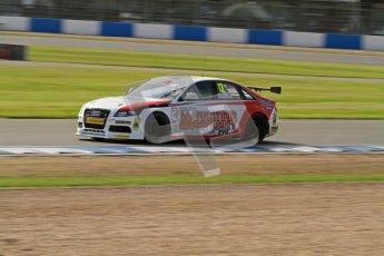 © Octane Photographic Ltd. BTCC - Round Two - Donington Park. Free Practice. Saturday 14th April 2012. Rob Austin, Audi A4, Rob Austin Racing. Digital ref : 0291lw7d2622