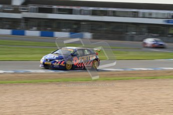 © Octane Photographic Ltd. BTCC - Round Two - Donington Park. Free Practice. Saturday 14th April 2012. Andrew Jordan, Honda Civic, Pirtek Racing. Digital ref : 0291lw7d2717