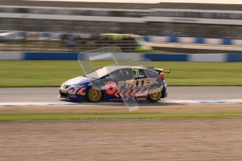 © Octane Photographic Ltd. BTCC - Round Two - Donington Park. Free Practice. Saturday 14th April 2012. Andrew Jordan, Honda Civic, Pirtek Racing. Digital ref : 0291lw7d2849