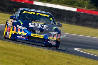 © Octane Photographic Ltd./Chris Enion. British Touring Car Championship – Round 6, Snetterton, Saturday 11th August 2012. Free Practice 2. Andrew Jordan - Pirtek Racing, Honda Civic. Digital Ref : 0453ce1d0020