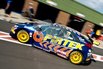 © Octane Photographic Ltd./Chris Enion. British Touring Car Championship – Round 6, Snetterton, Saturday 11th August 2012. Qualifying. Andrew Jordan - Pirtek Racing, Honda Civic. Digital Ref : 0454ce1d0267