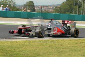 © 2012 Octane Photographic Ltd. Hungarian GP Hungaroring - Saturday 28th July 2012 - F1 Qualifying. McLaren MP4/27 - Jenson Button. Digital Ref : 0430lw1d7171