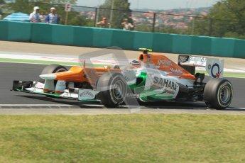 © 2012 Octane Photographic Ltd. Hungarian GP Hungaroring - Saturday 28th July 2012 - F1 Qualifying. Force India VJM05 - Nico Hulkenberg. Digital Ref : 0430lw1d7203