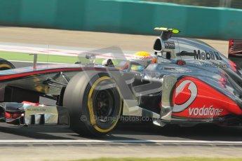 © 2012 Octane Photographic Ltd. Hungarian GP Hungaroring - Saturday 28th July 2012 - F1 Qualifying. McLaren MP4/27 - Lewis Hamilton. Digital Ref : 0430lw1d7216
