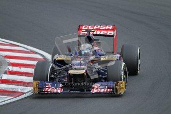© 2012 Octane Photographic Ltd. Hungarian GP Hungaroring - Saturday 28th July 2012 - F1 Qualifying. Toro Rosso STR7 - Jean-Eric Vergne. Digital Ref : 0430lw7d6827