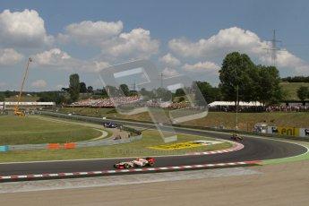 © 2012 Octane Photographic Ltd. Hungarian GP Hungaroring - Saturday 28th July 2012 - F1 Qualifying. HRT F112 - Narain Karthikeyan. Digital Ref : 0430lw7d7036