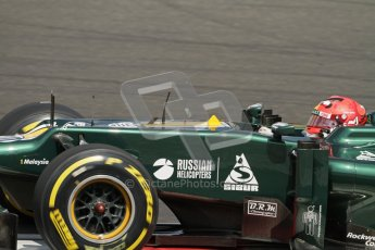 © 2012 Octane Photographic Ltd. Hungarian GP Hungaroring - Saturday 28th July 2012 - F1 Qualifying. Caterham CT01 - Heikki Kovalainen. Digital Ref : 0430lw7d7170