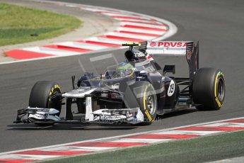 © 2012 Octane Photographic Ltd. Hungarian GP Hungaroring - Saturday 28th July 2012 - F1 Qualifying. Williams FW34 - Bruno Senna. Digital Ref : 0430lw7d7604