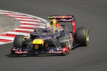 © 2012 Octane Photographic Ltd. Hungarian GP Hungaroring - Saturday 28th July 2012 - F1 Qualifying. Red Bull RB8 - Mark Webber. Digital Ref : 0430lw7d7703