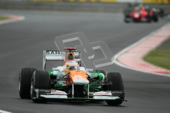 © 2012 Octane Photographic Ltd. Hungarian GP Hungaroring - Friday 27th July 2012 - F1 Practice 2. Force India VJM05 - Paul di Resta. Digital Ref : 0426lw1d6091