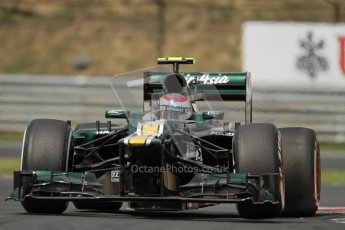 © 2012 Octane Photographic Ltd. Hungarian GP Hungaroring - Friday 27th July 2012 - F1 Practice 2. Caterham CT01 - Vitaly Petrov. Digital Ref : 0426lw7d5244