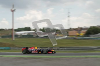 © 2012 Octane Photographic Ltd. Hungarian GP Hungaroring - Friday 27th July 2012 - F1 Practice 2. Red Bull RB8 - Mark Webber. Digital Ref : 0426lw7d5861
