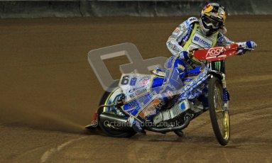 © Carl Jones/Octane Photographic Ltd. FIM FOGO British Speedway GP, Millennium Stadium, Cardiff, Friday 24th August 2012. Emil Sayfutdinov. Digital Ref : 0479cj7d8784