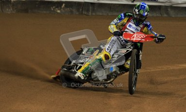 © Carl Jones/Octane Photographic Ltd. FIM FOGO British Speedway GP, Millennium Stadium, Cardiff, Friday 24th August 2012. Chris Holder. Digital Ref : 0479cj7d8795