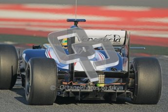 © 2012 Octane Photographic Ltd. Barcelona Winter Test 1 Day 1 - Tuesday 21st February 2012. Williams FW34 - Bruno Senna. Digital Ref : 0226lw1d6526