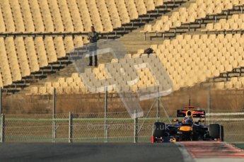© 2012 Octane Photographic Ltd. Barcelona Winter Test 1 Day 2 - Wednesday 21st February 2012. Red Bull RB8 - Sebastian Vettel. Digital Ref : 0227lw1d8145