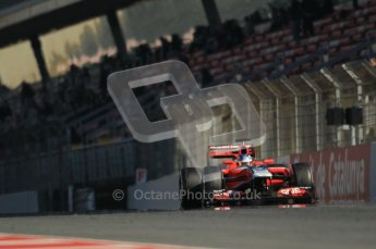 © 2012 Octane Photographic Ltd. Barcelona Winter Test 1 Day 2 - Wednesday 21st February 2012. MVR02 - Charles Pic. Digital Ref : 0227lw1d8892