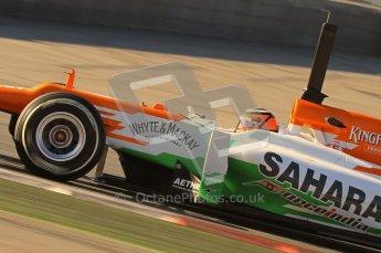 © 2012 Octane Photographic Ltd. Barcelona Winter Test 1 Day 2 - Wednesday 21st February 2012. Force India VJM05 - Nico Hulkenberg. Digital Ref : 0227lw7d6017