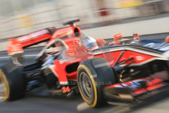 © 2012 Octane Photographic Ltd. Barcelona Winter Test 1 Day 3 - Thursday 23rd February 2012. Marussia MVR02 - Timo Glock. Digital Ref : 0228cb1d9474
