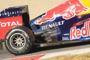 © 2012 Octane Photographic Ltd. Barcelona Winter Test 1 Day 3 - Thursday 23rd February 2012. Red Bull RB8 - Mark Webber. Digital Ref : 0228cb1d9672
